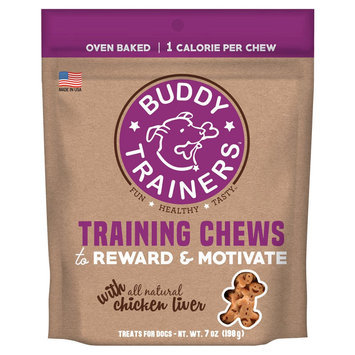 Buddy Biscuits Buddy Trainers Pet Treats with Liver - 7 oz, Liver Falovr