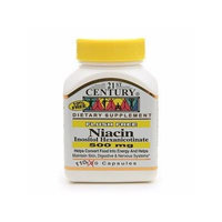 21st Century Flush Free Niacin 500mg 110 capsules