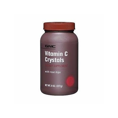 GNC Vitamin C Crystals with Rose Hips 8 oz (227 g)