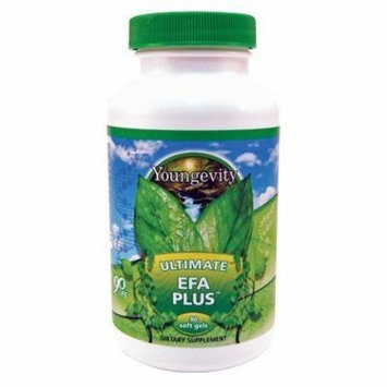 (INTERNATIONAL SHIPPING) 90 Softgels Ultimate EFA Plus Youngevity Omega 3 6 9 Fish Oil Supplement Dr Wallach