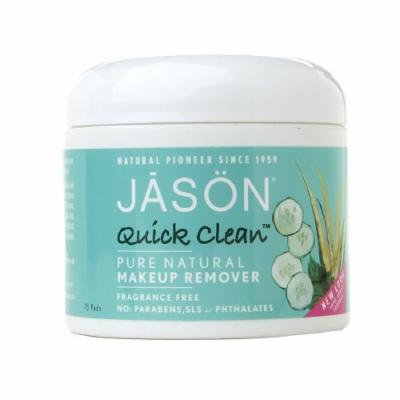 Jason Natural Cosmetics Quick Clean Makeup Remover Pads, Oil Free 75 ea