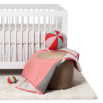 Lambs & Ivy 3-Piece Crib Bedding Set - Dawn, Bright Gold