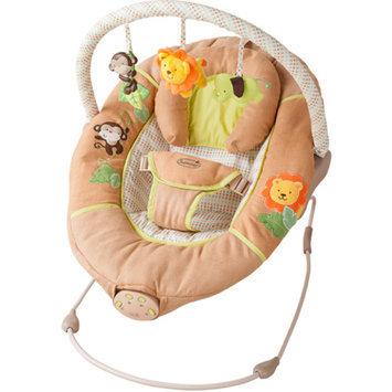Summer Infant Swingin' Safari Bouncer, Tan, 1 ea