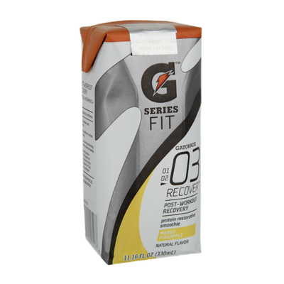 Gatorade Fit Series 03 Recover Mango Pineapple Protein Restorative Smoothie