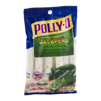Polly-O Jalapeno String Cheese - 12 CT