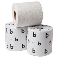 BOARDWALK 20GREEN Bathroom Tissue, 2-Ply, White, 500 Sheets/Roll, 96 Rolls/Carton