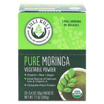 Kuli Kuli Pure Moringa Vegetable Super Food Powder Packets - 20 Count