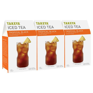 Takeya All Natural Tropical Black Iced Tea 6ct