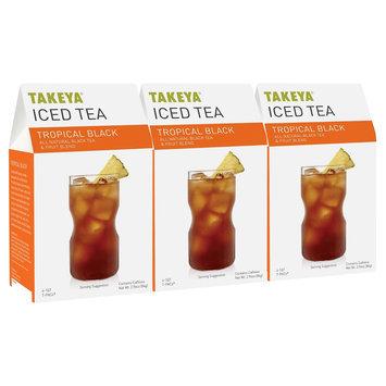 Takeya All Natural Tropical Black Iced Tea 6ct
