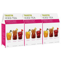 Takeya All Natural Whole Leaf Variety Pack Iced Tea 6ct