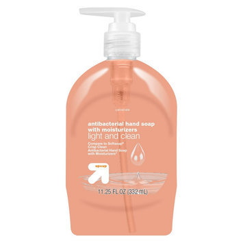 up & up Light and Clean Antibacterial Hand Soap Moisturizers - 11.2 oz