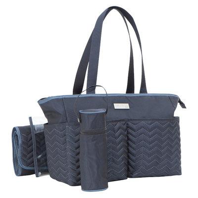 Baby Boom Carters Diaper Bag Chevron Grey