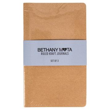 Horizon Bethany Mota Ruled Kraft Journals - 3ct, Light Brown