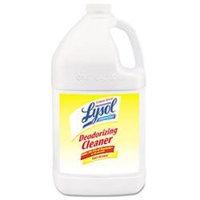 Professional LYSOL Brand Lemon 1 gal Disinfectant Deodorizing Cleaner - 4/CT