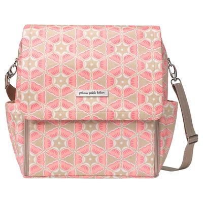 Infant Petunia Pickle Bottom 'Boxy Glazed' Diaper Bag - Pink