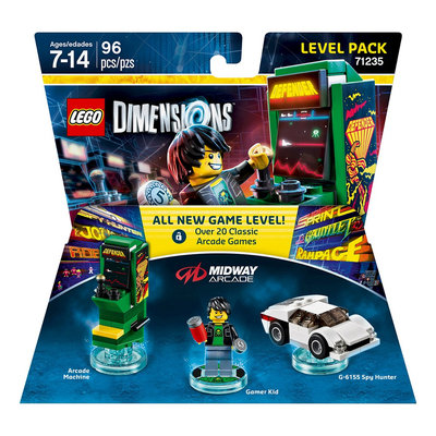 Warner Brothers Wb Games - Lego Dimensions Level Pack (midway Arcade)