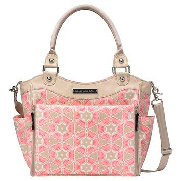 Petunia City Carryall - Blooming Brixham, Pink