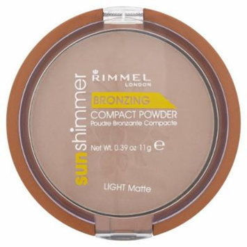 Rimmel Sun Shimmer Bronzing Powder Light Matt