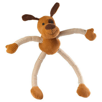 House of Paws Barnyard Doggy Long Legs Dog Toy, Multi - Colored