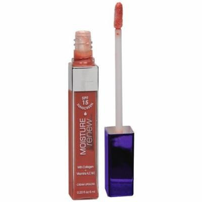 (Pack of 2) Rimmel Moisture Renew Lip Gloss Spf15 (Peach Fusion 117)