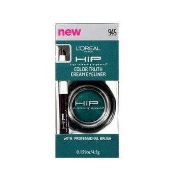 L'oreal Paris Hip Studio Secrets Professional Color Truth Cream Eyeliner, 945 Teal (2 pack)