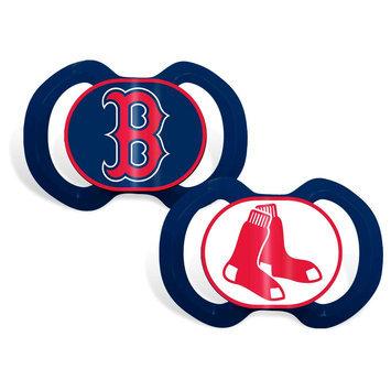 Baby Fanatic Boston Red Sox Pacifier Set (2-pk)