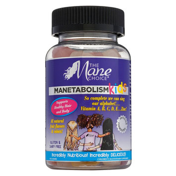 The Mane Choice Manetabolism Kids Healthy Hair Vitamins - 60 ct