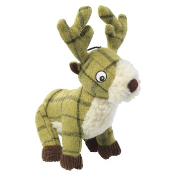 Tweed Stag Toy (Green) (Large)