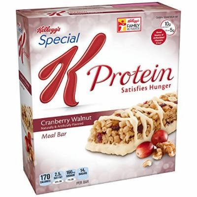 Special K Protein Meal Bars, Cranberry Walnut, 6 Bars, 9.5 Ounce Total