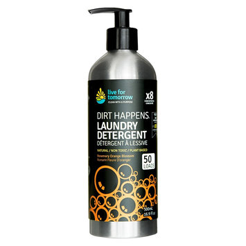Live for Tomorrow, Natural Laundry Detergent, Rosemary Orange Blossom, 50 loads