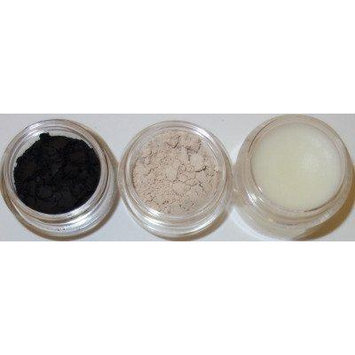 Glamour My Eyes All Natural Mineral Brow Powder Set - Black