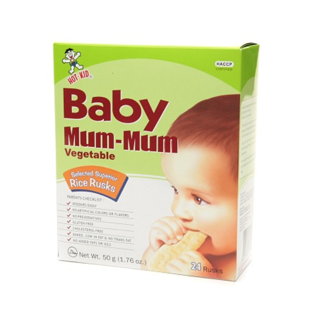 Baby Mum-Mum Rice Rusks