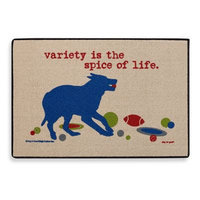 High Cotton Variety is the Spice of Life Doormat