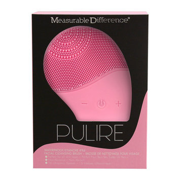 Measurable Difference Facial Cleansing Massager, Pink