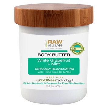 Raw Sugar White Grapefruit & Mint Body Butter - 16.9 Fl Oz