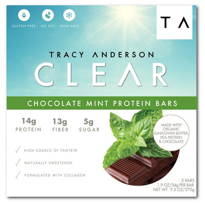 Tracy Anderson Method Tracy Anderson Chocolate Mint Protein Bars - 5 Count