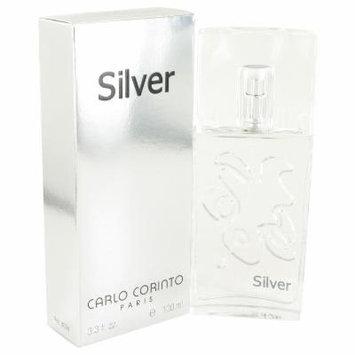 Carlo Corinto Silver for Men by Carlo Corinto EDT Spray 3.4 oz