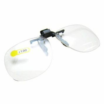 Daiso Japan Optical Clip-on Flip-up Magnifying Reading Glasses +1.00 Diopter