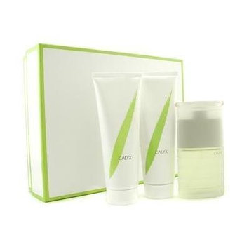 Calyx by Prescriptives for women 3 Pc Set 1.7 oz EDT Spray 1.7 oz EDT Spray + 3.4 oz Body Lotion + 3.4 oz Shower & Batch Gel