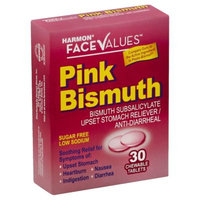 Harmon® Face Values™ 30-Count Pink Bismuth Chewable Upset Stomach Relief Tablets