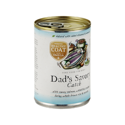 Variety Dad's Savory Catch Fine Food for Dogs