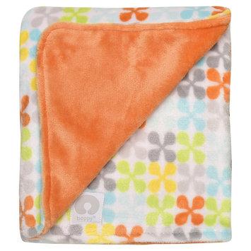 Boppy Ultra Plush Jacks Print Blanket - Orange