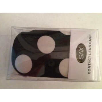 13 Varieties of Contact Lens Case You Choose (Black/White Dot)