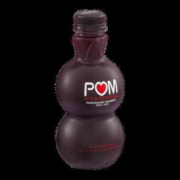 POM Wonderful 100% Juice Pomegranate Cranberry Flavor