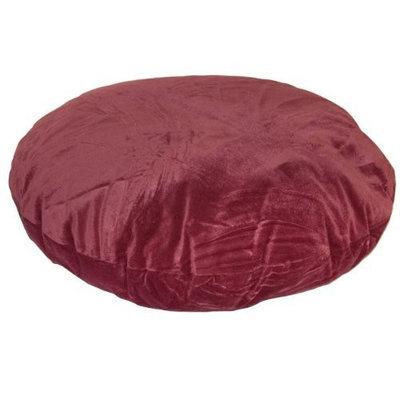 Happy Hounds Stella Round Dog Bed, Large 42-Inch, Garnet