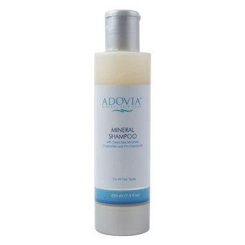 Seaora Mineral Skin Care Adovia Mineral Skin Care Dead Sea Mud Shampoo with Dead Sea Minerals, Vitamin E and Chamomile, 7.4 fl oz