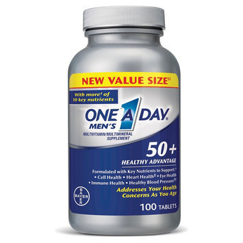 One A Day Men's 50+ Multivitamin Tablets - 100 Count