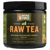 Natural Force - Raw Tea Pre-Workout Peach - 0.36 lb.