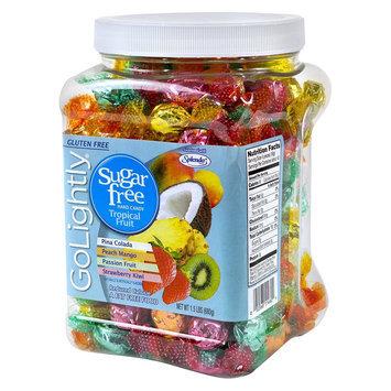GoLightly Sugar-Free Tropical Fruit Hard Candy 1.5 lbs