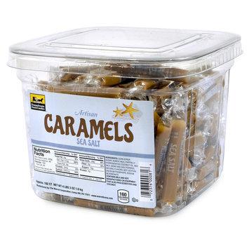 Caramels Sea Salt Tub 192 Count